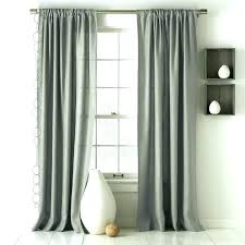 gray ruffle curtains linen curtains inch full image for grey ruffle shower curtains gray ruffle curtain