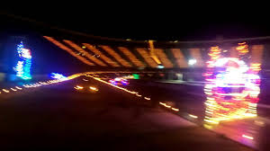How Many Lights At Bristol Motor Speedway Bristol Motor Speedway Light Show Youtube