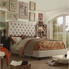 felisa upholstered panel bed. Interesting Upholstered Creations Felisa Panel Bed Beige0 With Upholstered E