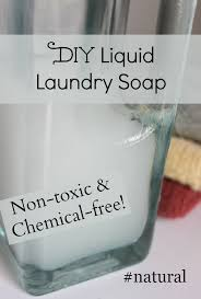 diy liquid laundry soap simple and naturalliving