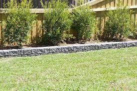 diy garden edging australian