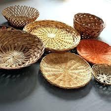 rattan wall art wicker wall baskets 8 wall hanging baskets wicker basket wall art woven wall