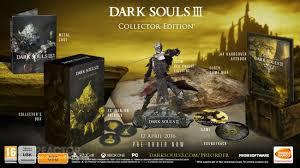 två fläskiga samlarutgåvor av dark souls iii