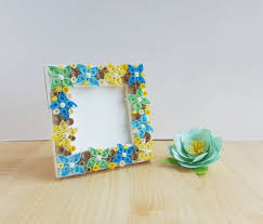 Paper Quilling Flower Frames Paper Quilling Flower Frame Diy Step By Step Instructions