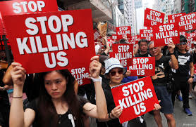Image result for support the protestors over in Hong Kong, they want freedom