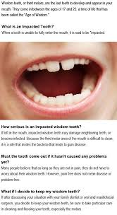 when do your wisdom teeth come in firstchildhoodeducation blo com