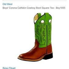 Lime Green Square Toe Cowboy Boots