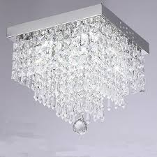 crystal chandelier lamp modern ceiling light pendant fixture