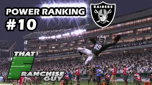 Diving Deep Into The 2017 Oakland Raiders Power Ranking 10