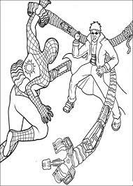 Disegno Di Spider Man E Doctor Octopus Da Colorare Disegni Da
