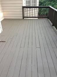 what to do if paint is ling off a deck