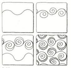 Zentangle Patterns Step By Step Amazing 48 best Zentangle Pattern steps how to draw images on