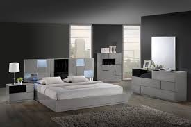 trendy bedroom furniture. Contemporary Bedroom Sets Bianca Set By Global W/platform Bed U0026 2 Nightstands RDJSSXH Trendy Furniture