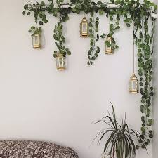diy plant wall decor fake plants ideas decor pl on nuonuowell plant wall decoration leaves bunch