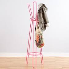 Kids Coat Rack With Storage Land Of Nod Pink Basic Framework Coat Rack 1100100 Each Perfect To 6