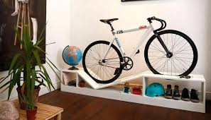 Bike hanger for apartment Space Saving Standing Bicycle Storage Ideas Bike Uk Wood Holder Bicycle Mikejack Bicycle Storage Ideas Indoor Mountain Bike Creative Mikejack