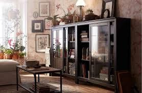 shelves marvelous ikea hemnes glass door cabinet black brown