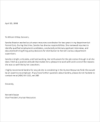 Recommendation Letter For Application Of Job How To Write