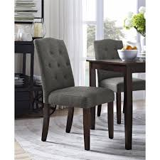 astounding design tufted parsons dining chair 16