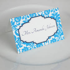 Place Card Design Wedding Place Card Templates Rococo Design