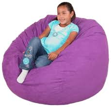 Furniture: Adorable Purple Kids Bean Bag Chairs - Interesting Bean ...
