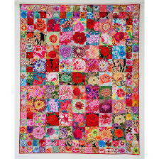 Kaffe Fassett Seed Packet Quilt Kit 68 by 83 Inches   Quilt Kit ... & Kaffe Fassett Seed Packet Quilt Kit 68 by 83 Inches Adamdwight.com