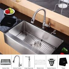 Best Kitchen Sinks And Faucets Vigo Farmhouse Stainless Steel Sink Sinks And Faucets Gallery