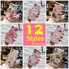 iPhone XS MAX XR X 7 PLUS 6S Soft Casing <b>Flower Luxury 3D</b> ...
