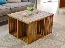 pallet crate furniture. Brilliant Crate Lovely Pallet Crate Furniture Intended For 11 DIY Wooden Coffee Table Ideas Inside