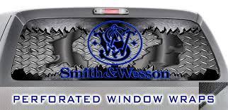Window Wrap Design Amazon Com Smith Wesson 005 Window Wrap Usa Metal
