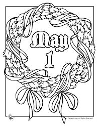 Printable May Day Baskets May Day Coloring Pages Woo Jr Kids