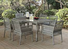 aura outdoor patio dining set 5pc in
