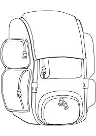 Small Picture Backpack Coloring Picture Backpack Coloring Pages In Coloring Page