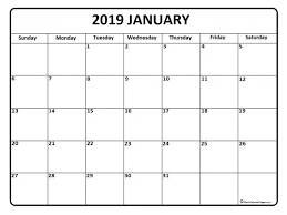 free calendar printable 2019 january 2019 calendar printable pdf andwerve com