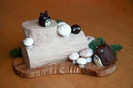 Season, then add half to the mushroom mixture in the pan and cook for 1 min until the sauce becomes glossy. Totoro Chestnut Yule Log Wooden Floor