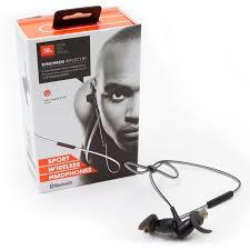 jbl earphones. jbl synchros reflect bt sport bluetooth wireless earphones earbuds - black jbl