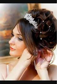 Image Coiffure Mariage Avec Diadème Coiffure Cheveux Mi Long