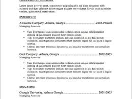 Free Resume Database recruiter resume templates jerry smith 100 broadway lane new 71
