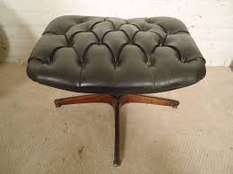 mid century modern vintage bentwood chair and ottoman by george mulhauser for