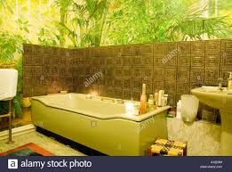 Bath Candles Copper Bathroom Tiles Conservatory Window Green Plant - Candles for bathroom