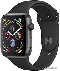 <b>Умные часы Apple Watch Series 4</b> 44 мм (алюминий серый ...