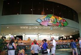 garden grill restaurant in the land of future world at disney epcot
