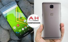 Phone Comparisons Moto Z Play Vs Oneplus 3t