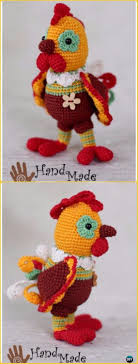Crochet Chicken Pattern Unique Design