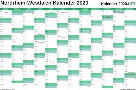 Kalender 2021 nrw zum ausdrucken kostenlos from mediafiles.urlaubsguru.de. Kalender 2020 Nordrhein Westfalen
