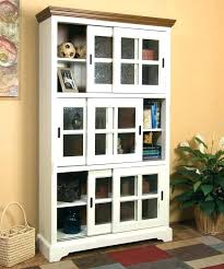 antique bookcase with glass door glass door bookcase cabinet glass door shelves bookcase with doors small