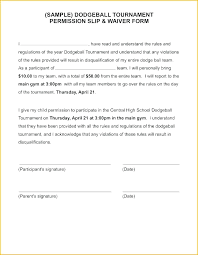Permission Slip Template Classy Consent Form Template For Parents School Parental Parent Free Field