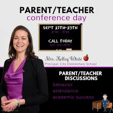 Parent Teacher Conference Template | Postermywall