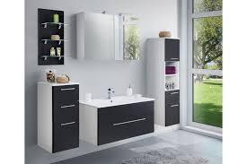 Viva Von Posseik Badezimmer Weiß Schwarz Seidenglanz