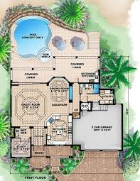 Beach House Plans Coastal House Plans WaterfrontBeach Cottage Floor Plans